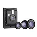 Lomography | Instant Black Edition Camera + 3 Lenses | LI800B