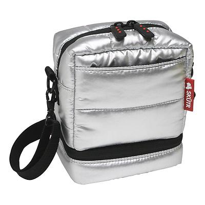 Instax Camera Bag For Fujifilm Mini 8 Or Polaroid 300 Cameras Silver Image