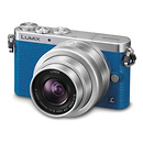 Panasonic | Lumix DMC-GM1 Digital Camera with G Vario 12-32mm Lens (Blue) | DMCGM1KA