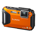 Panasonic | Lumix DMC-FT5 Digital Camera (Orange) | DMCFT5D