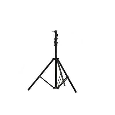 Light Stand with Leveling Leg (Black, 8.2') Image 0