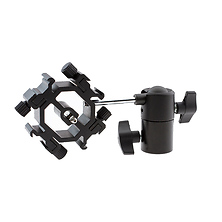 Quadruple Shoe Mount Bracket with Umbrella Tilt Holder Image 0