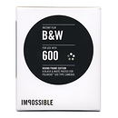 The Impossible Project | Instant B&W Film with Round Frame for Polaroid 600-Type Cameras | PRD3699