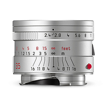 35mm f/2.4 Summarit-M Aspherical Manual Focus Lens (Silver) Image 0