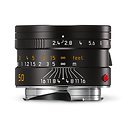 Leica | 50mm f/2.4 Summarit-M Manual Focus Lens (Black) | 11680