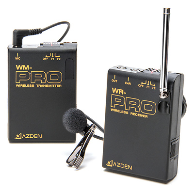 WLX-PRO+i VHF Wireless Lavalier System for Cameras & Mobile Devices Image 0