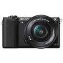 Sony | a5100 Mirrorless Digital Camera with 16-50mm Lens (Black) | ILCE5100LB