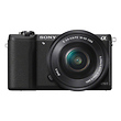 a5100 Mirrorless Digital Camera with 16-50mm Lens (Black)