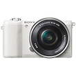 a5100 Mirrorless Digital Camera with 16-50mm Lens (White)