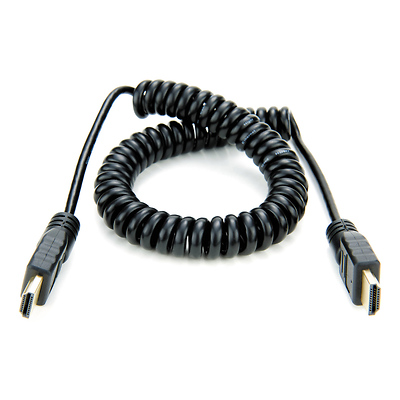 Full HDMI to Full HDMI Coiled Cable (19.7-25.6