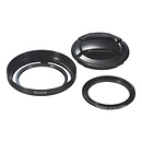 Fujifilm | X20 Lens Hood and Filter Set (Black) | 16325945