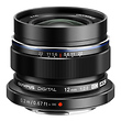 M. Zuiko Digital ED 12mm f/2.0 Lens (Black)