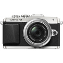 Olympus | E-PL7 Digital Camera with 14-42mm 2R Zoom Lens (Silver) | V205071SU000