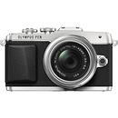Olympus | E-PL7 Digital Camera with 14-42mm 2R Zoom Lens (Silver) | V205071SU000