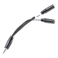 i-Coustics HX-Mi TRRS Mic/Headphone Adapter for Smartphones & Tablets Image 0