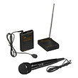 WMS-PRO+I VHF Wireless Lavalier and Handheld Mic System
