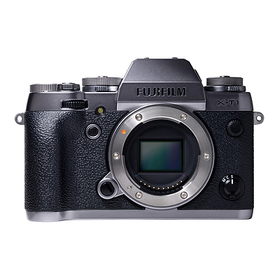 X-T1 Mirrorless Digital Camera Body Only (Graphite Silver) Image 0