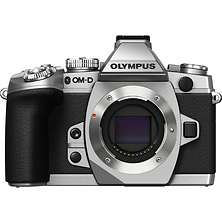 OM-D E-M1 Micro Four Thirds Digital Camera Body - Silver (Open Box) Image 0