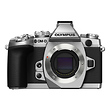 OM-D E-M1 Micro Four Thirds Digital Camera Body (Silver)