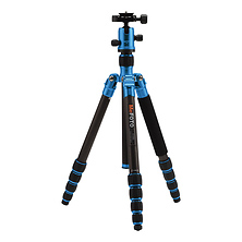 RoadTrip Carbon Fiber Travel Tripod Kit (Blue) Image 0