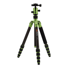 RoadTrip Carbon Fiber Travel Tripod Kit (Green) Image 0