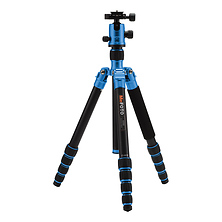 GlobeTrotter Aluminum Travel Tripod Kit (Blue) Image 0