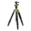 GlobeTrotter Aluminum Travel Tripod Kit (Green)