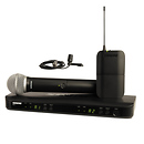 Shure | BLX1288/CVL Dual-Channel Combo Wireless System (H8: 518 - 542 MHz) | BLX1288/CVL-H8
