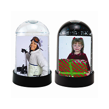 Horizontal Photo Snow Globe Image 0
