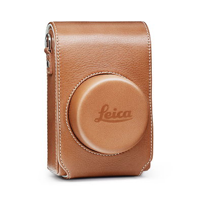 Leather Camera Jacket Case for D-Lux Typ 109 (Cognac) Image 0