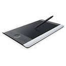 Wacom | Intuos Pro Professional Pen & Tablet Special Edition (Silver & Black, Medium) | PTH651SE
