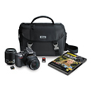 Nikon | D5200 Digital SLR Camera with 18-55mm and 55-200mm Lenses (Black) | 13461