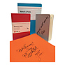 Sketch Note A6 Booklet Bundle (40 Sheets, Red and Orange) Thumbnail 1