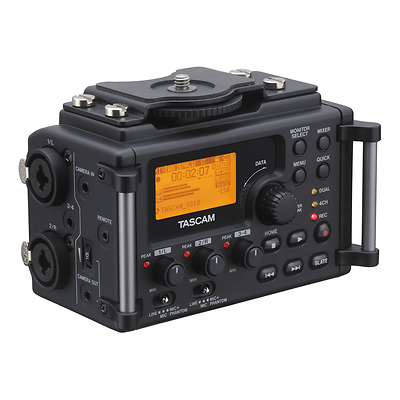 DR-60DmkII 4-Channel Portable Recorder for DSLR Image 0