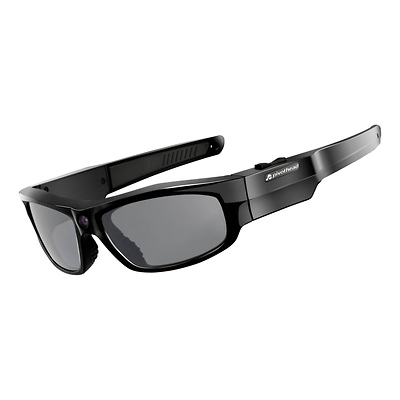 Durango Glossy 1080p Video Recording Sunglasses (Black) Image 0