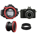 Olympus | E-M5 Camera With 14-42mm II Lens And PT-EP08 Underwater Housing Bundle | V204041BU050