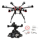 DJI Spreading Wings S900 Quadcopter with Zenmuse Z15-GH4HD Gimbal