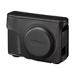 Leather Body Case and Strap for COOLPIX A Digital Camera (Black)