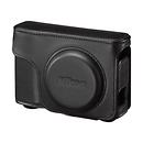 Nikon | Leather Body Case and Strap for COOLPIX A Digital Camera (Black) | 93543