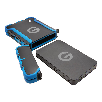 G-Technology G-DRIVE ev ATC with Thunderbolt 1TB Open Box 0G03586
