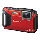 Panasonic Lumix 16MP DMC-TS6 Digital Camera (Red)