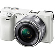 a6000 Mirrorless Digital Camera with 16-50mm Lens (White)