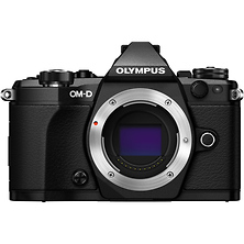 OM-D E-M5 Mark II Micro Four Thirds Digital Camera Body (Black) Image 0