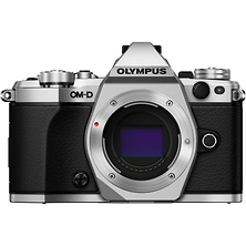 OM-D E-M5 Mark II Micro Four Thirds Digital Camera Body (Silver) Image 0