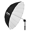 41 In. Deep Medium Umbrella (White)