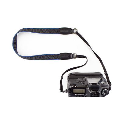 Camera Strap V2.0 (Black/Blue) Image 0
