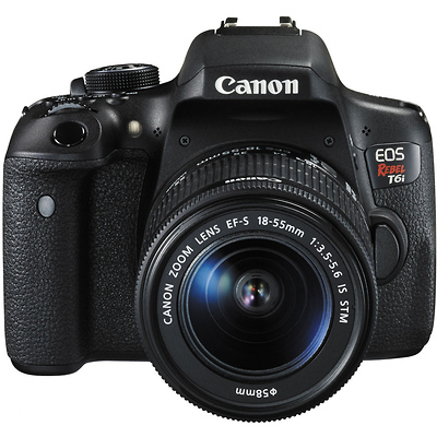 Canon Rebel T6i Video Creator Kit with 18-55mm Lens, Rode