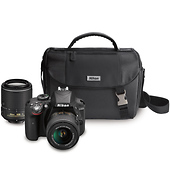 D3300 Digital SLR Camera with 18-55mm and 55-200mm Lenses (Black)
