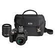 D3300 Digital SLR Camera with 18-55mm and 55-200mm Lenses (Black)
