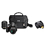 D3300 Digital SLR Camera with 18-55mm and 55-200mm Lenses (Black) with WU-1a Wireless Mobile Adapter Thumbnail 0